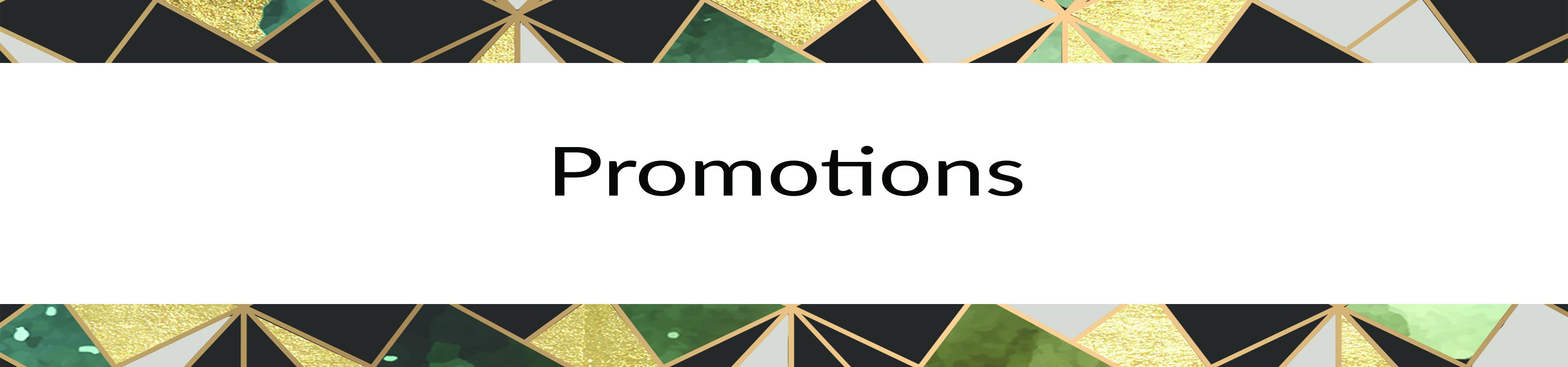 Promotion du mois