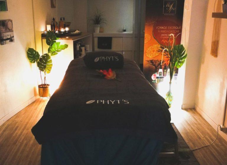 Cabine de massage et soin du visage